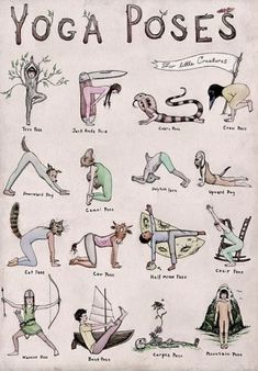 What's your favorite yoga pose in this adorable illustration? - What's your favorite yoga pose in this adorable illustration? What's your favorite yoga pose in this adorable illustration? Yoga Fitness, Health Fitness, Health Yoga, Fitness Men, Gut Health, Yoga Meditation, Meditation Rooms, Yoga Inspiration, Inspiration Fitness