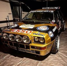 Lancia Delta, Bmw, Cars, Vehicles, Gold, Black, Black People, Autos, Car