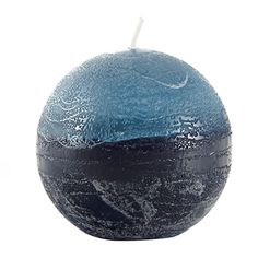 Decorative and beautiful, this ball candle works well in any intimate setting. Its vibrant hues bring a calm and stylish look to any room. Let this luxurious piece bring you the comfort you need. Bouclair, Round Candles, Beautiful, Decor, Taper Candles, Decoration, Decorating, Deco