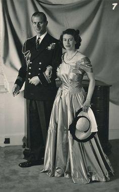 royalwomenofgreatbritain:  Philip and Elizabeth