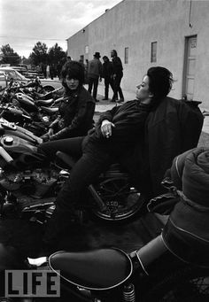 Bill Ray--Hells Angels, 1965 #blackandwhitephotolove