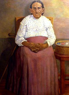 ''Pintor pinta la mamá'' Carlos Zuñiga Figueroa - Honduras