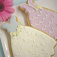 Wedding or Bridal Shower cookies