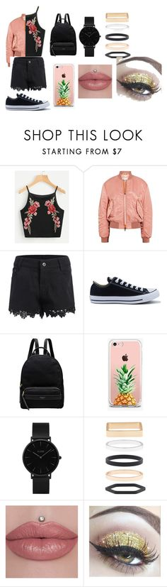 """""""Beach Outfit"""" by serenityreigndavis on Polyvore featuring Acne Studios, Converse, Radley, The Casery, CLUSE and Accessorize"""