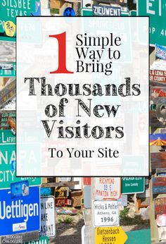 Want a quick way to bring in tons of awesome new traffic to your blog? Guest posting is it! If you aren't guest posting yet, you should be. This post will show you why.