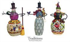 ♥♥♥ Jim Shore Snowmen Ornaments ♥♥♥