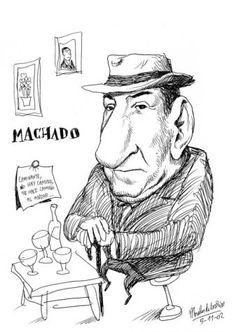 Antonio Machado by Pablo Morales de los Rios
