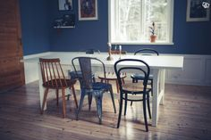 Matbord, Norden (Ikea), Vitt