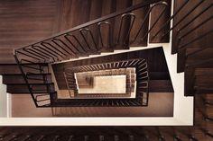 das TSCHOFEN Bludenz | Atelier Ender | Architektur Stairs, Home Decor, Atelier, Water Supply, Room Layouts, Ground Floor, Stairway, Decoration Home, Room Decor