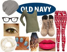 """Style That Sweater with Old Navy"" by nialls-snowflake72210 on Polyvore"