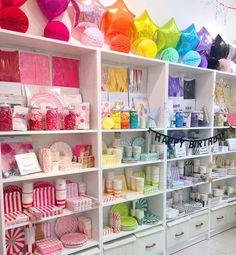 Little Lemonade by Double Knot ( Kids Store Display, Kids Toy Store, Gift Shop Displays, Store Displays, Party Stores, Party Shop, Party Supply Stores, Gift Shop Interiors, Balloon Shop