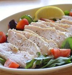 鶏むね肉で!ダイエットレシピ第12弾!「ガーリックコンソメ鶏ハム」【サラダチキン風】