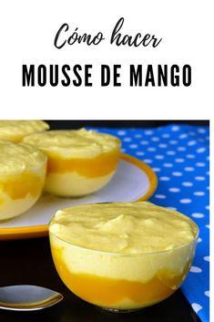 Hello Recipe, Sweet Desserts, Dessert Recipes, Mango Mousse, Chicken Salad Recipes, Carrot Cake, Flan, Food Videos, Deli