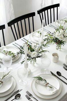 20 крутых идей сервировки стола для званного ужина
