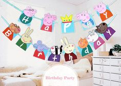 Peppa Pig birthday bunting+free cupcake toppers Welcome to Partypropzdesigns! PEPPA PIG birthdayBUNTING DIGITAL FILE. → Store hours: Monday to Friday: 9 AM to 5 PM. Weekends & Holidays: No customer service. You can make your order or send a question during weekends and holidays