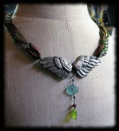 Assemblage necklace by Wyanne