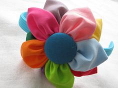 daisy girl scout headband by YeauxYeauxBows on Etsy, $12.00