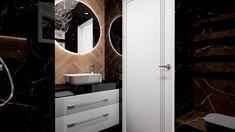 Praca konkursowa z wykorzystaniem mebli łazienkowych z kolekcji BARCELONA #naszemeblenaszapasja #elitameble #meblełazienkowe #elita #meble #łazienka #łazienkaZElita2019 #konkurs Bathroom Lighting, Barcelona, Mirror, Furniture, Design, Home Decor, Bathroom Light Fittings, Bathroom Vanity Lighting, Decoration Home