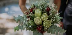 #FlashbackFriday to this beautiful bouquet from one of our Summer brides. The bouquet's main attraction was striking white Protea repens.  Fun fact: This plant is also known as a sugarbush because, in the past, people collected the nectar from the plant and boiled it to make a sugary syrup that was used to sweeten food and as a cough syrup. Now they're also used in the dried-flower industry.  #flowers #weddings #fabulousfynbos #protea #bouquet Baby Shower Flowers, Dried Flowers, Wedding Bouquets, Fun Facts, Protea Bouquet, Floral Wreath, Cough Syrup, Main Attraction, Brides