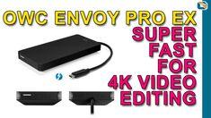 OWC Envoy Pro EX Thunderbolt 3 SSD Review • Pro Portable 4K Video Editing