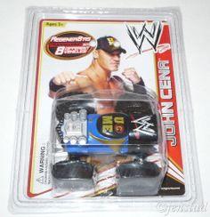 JOHN CENA WWE REGENER8'RS TRUCK TOY TRANSFORM INTO 8 DIFFERENT VEHICLES NEW 2013