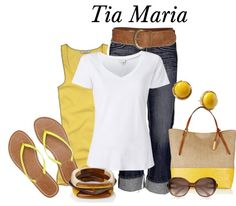 """""""They Call Me Mellow Yellow"""" by tmm70 on Polyvore"""