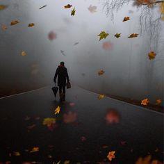 ⠀⠀⠀⠀⠀⠀⠀⠀⠀⠀⠀⠀⠀⠀⠀⠀⠀ ✪✪ Photograph: @focuscada . Creepy, Dark Autumn, Sad Life, Bridal Beauty, Unique Photo, Cool Lighting, Solitude, Rainy Days, Creative Photography