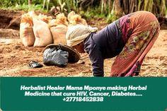 Herbalist Healer Mama Mponye making Herbal Medicine that cure HIV, Cancer, Diabetes.... +27718452838 Powerful Money Spells, Money Spells That Work, Winning Lotto, Revenge Spells, Bring Back Lost Lover, Black Magic Spells, Lost Love Spells, Hiv Aids