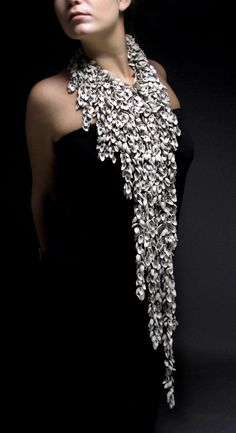 Heather Thompson : sterling silver, porcelain, pearls