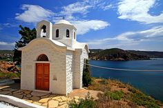 Most Beautiful Islands: Greece-Dodecanese Islands Chapelle, Medieval Castle, Place Of Worship, Greek Islands, Beautiful Islands, Places Around The World, Places To See, Cool Photos, Amazing Photos