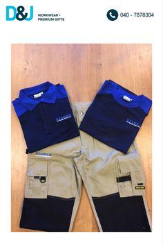 Diverse werkkleding voor Stabilo Interieurbouw. #Werkbroek #Trui #T-shirt