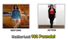 weight loss before after photos heather johnson