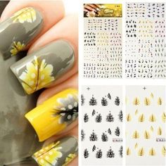 Nail Art Tips Nail Decal Accessory Design Water Transfer Fashion Stickers