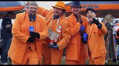 Chicago Bears' superfans Da Suit Crew