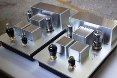 Psvane T845 Reference Tube Power Amplifiers (pair) | Psvane Audio Tubes, Caps and Amps