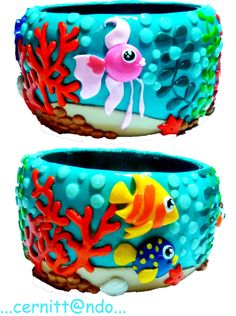 Sealife Bangle by cernittando.deviantart.com on @deviantART