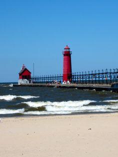 Grand Haven, Michigan  #grand_haven_michigan #michigan; #lake_michigan