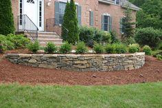 retaining wall ideas   entryways walkways steps block walls stone walls