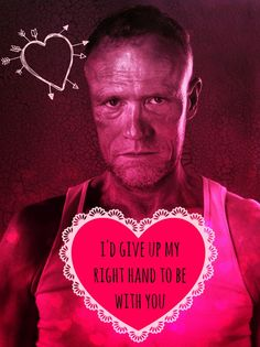 merle, the walking dead, valentine