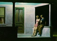 Edward Hopper, Summer Evening, 1947, Oil on canvas, Private collection