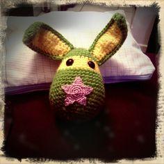 Star bunny #crochet #amigurumi