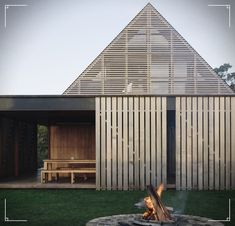 Forest House / Fearon Hay Architects Best Picture For Rustic house cabinets For Residential Architecture, Interior Architecture, Interior Design, One Room Cabins, Rustic Comforter, Forest House, House And Home Magazine, Auckland, Outdoor Living