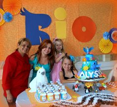 Rio Movie Birthday Party Ideas | Photo 1 of 24 | Catch My Party
