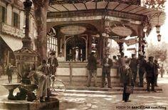 Frederic Ballell y la Rambla Fc Barcelona, Barcelona Catalonia, Old Pictures, Old Photos, Art Nouveau, Alberto Giacometti, Antoni Gaudi, Sand Crafts, Medieval Castle