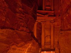 Does Petra's Treasury façade look familiar to your kids? That's because it was used in the film Indiana Jones and the Last Crusade. [Photo by Taylor Kennedy]