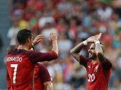 Result: Andre Silva hat-trick helps Portugal to victory over Faroe Islands