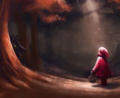 ArtStation - Red Riding Hood, Ivan Fortunov