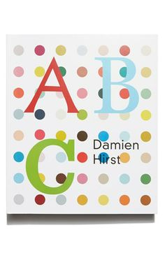 Damien Hirst's 'ABC' Board Book   Nordstrom
