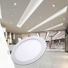Smuxi Ac85-265v Led Ceiling Light 12w Body Sensing Round Square Shape Led Down Light Ceiling Recessed Spot Light Neither Too Hard Nor Too Soft Ceiling Lights & Fans