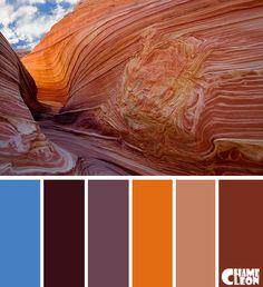 Color Palette, canyon, Arizona. Sunset Color Palette, Colour Pallette, Sunset Colors, Concept Models Architecture, Chameleon Color, Desert Colors, Tips & Tricks, Design Seeds, Paint Colors For Home